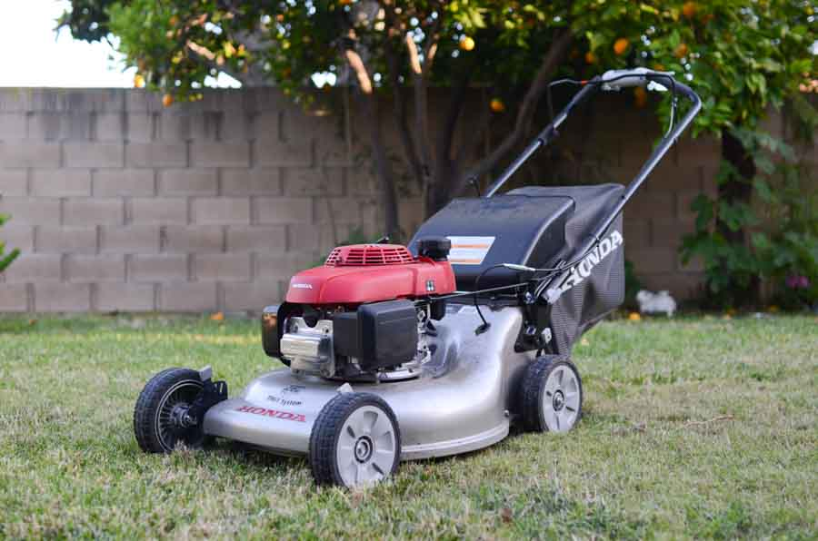 Gas-Powered Lawn Mowers